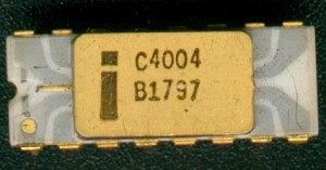 The Intel 4004 Microprocessor -- the little chip that started it all (Source: 3)