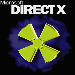 The old DirectX Logo.