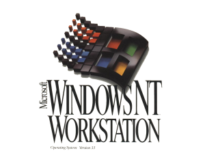 Windows NT 3.5 was the first version of Windows to support OpenGL -- barely.